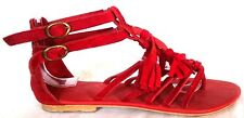 Women's shoes sandals suede leather model KAYLA Us size 3.5 to 12