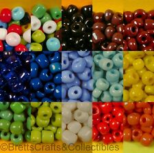 #6/0 - Opaque Glass Seed Beads - 40 grams per Bag - Buy 3 bags get 2 FREE