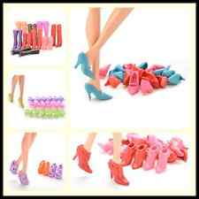 Multiple Choice Mix Shoes Boots for Barbie Doll Girls Play House Gift  SN