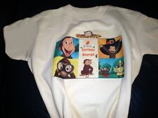 Adorable Curious George (American Made) T-shirt Personalized! Choice of two...2