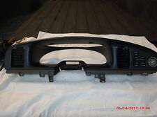 98 / 03 Lincoln Continental Dash Bezel Housing with clock TESTED Working