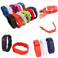 Soft Replacement Wrist Band Watch Band Metal Buckle Bracelet for Fitbit Flex