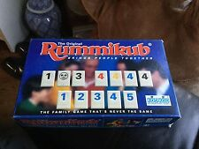 RUMMIKUB - (TRAVEL EDITION ) TILE GAME 1994 - VGC COMPLETE WITH INSTRUCTIONS