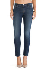 J BRAND Jude Midrise Slim Sexy Ankle Skinny Jeans Pants Storm Faded Blue 28 $198