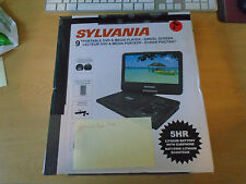 Sylvania SDVD9019 9 INCH Portable DVD & Media Player, Swivel Screen Used