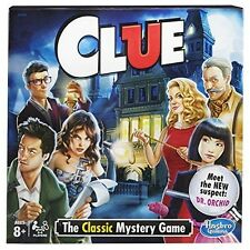 Hasbro Clue game -The Classic Mystery Game
