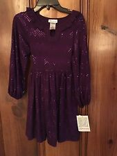 Bonnie Jean Purple Easter Dress 10,14