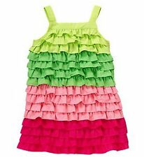 NWT Gymboree Floral Mermaid Collection Colorblock Ruffle Dress ~ Sz. 8, 10, 12