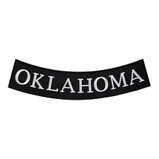 Oklahoma State Bottom Rocker Patch, U.S. 50 States Patches