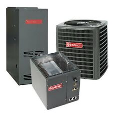 2 Ton 13 SEER 80% AFUE Gas Furnace & Air Conditioner System, Dedicated Downflow
