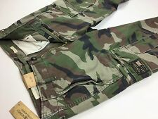 Denim & Supply Ralph Lauren Men Military Army Camo Cargo Pants 31,32,33,34,36x32