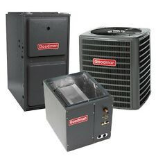 2 Ton 13 SEER 92% AFUE Single Stage Gas Furnace & Air Conditioner System, Upflow