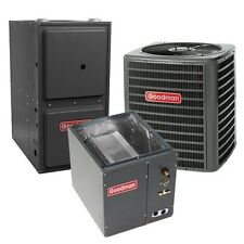 2 Ton 13 SEER 92% AFUE Gas Furnace & Air Conditioner Condenser System, Downflow