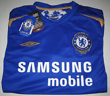 Umbro Chelsea Centenary Year 1905-2005 Home Shirt Size SB 7-8 years BNWT