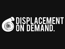 DISPLACEMENT ON DEMAND SHIRT turbo jdm japanese vw evo golf awd boost racing