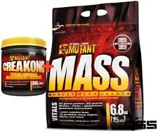 PVL MUTANT MASS MUSCLE MASS WEIGHT GAINER 6.8KG 10 PROTEINS PLUS FREE CREAKONG
