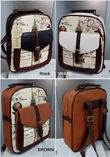 Women's Fashion Printing Backpack Rucksack College Shoulder School Satchel Bag