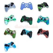 Silicone Protective Skin Case Cover for Sony PS2 PS3 Wireless Game Controller