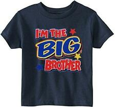 Lil Shirts Little Boys I'm the Big Brother Youth & Toddler Graphic Tee