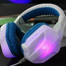 Stereo PC Gaming Headset Headphones Noise Cancel Mic 3.5mm Surround
