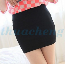 Women's Sexy Mini Skirt Seamless Slim Stretch Short Tight Fitted Pencil Skirt