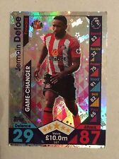 Topps Football Match Attax Attack Cards 2016 / 2017 Premier League game changers