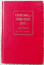 """1961 14th EDITION """"HANDBOOK OF US COINS"""" BY R.S. YEOMAN """"THE RED BOOK""""!!"""