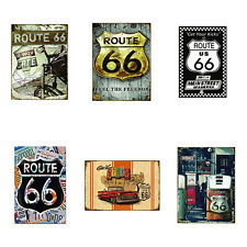 US Route 66 Highway Road Historic Metal Tin Sign Plaque Home Wall Decor Ardent