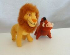 McDonalds LION KING 2 SIMBA'S PRIDE Lot 2 Plush Stuffed Happy Meal Toys Pumbaa