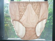 Vintage Sexy Lingerie Nylon Granny Bloomers Panties Knickers Underwear L XL 2XL