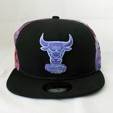 Chicago Bulls New Era 59Fifty Fitted NBA Hat, Space Midder, Galaxy