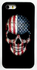 AMERICAN FLAG SKULL SKELETON PHONE CASE COVER FOR IPHONE 7 6S 6 PLUS 6 5C 5S 5 4