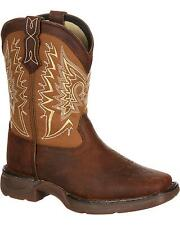 Durango Boys' Lil'  Let Love Fly Western Boot Square Toe - DWBT099