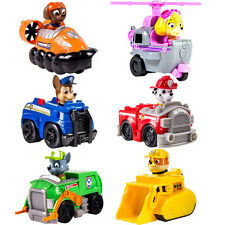 Cute Paw Patrol Pup Dog Action Figures Doll Racer Car Kids Baby Boy Girl Toy
