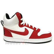 Shoes Nike Court Borough Mid 838938 101 Man Basket Sneakers White Red Black