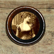 Victorian Fashion CORSET Altered Art Tie Tack or Ring or Brooch pin