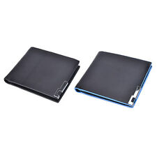 New Fashion Men's Vintage Faux Leather Bifold Purse ID Card Holder Clutch Wallet