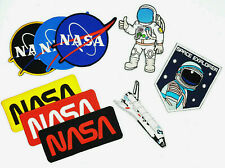 SPACE SHUTTLE NASA ASTRONAUT Embroidered Iron On Sew On Patch