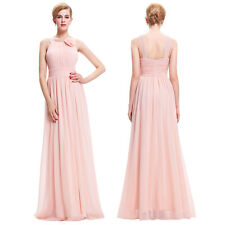 Long Chiffon Elegant Ball Gown Prom Bridesmaid Pageant Evening Party Maxi Dress