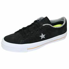 CONVERSE TRAINERS ONE STAR OX BLACK SNEAKERS