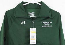 Under Armour Scout II 1/2 Zip Pullover CSU Basketball Colorado WOMENS green