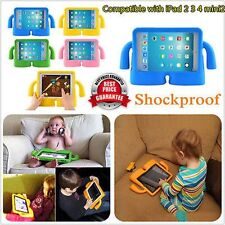 Shockproof Kids Safe Handle EVA Foam Case Cover Holder For iPad2/3/4 Mini2 YK