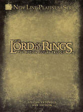 Lord of the Rings: The Motion Picture Trilogy (DVD, 2004, 12-Disc Set) COMPLETE