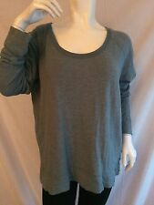 NWOT JAMES PERSE CASUAL GREEN SOLID SWEATSHIRT BLOUSE TOP SIZE 2/M ORIG$125.00