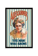 """""""Alexander, The Man Who Knows"""" Print [ID 544616]"""
