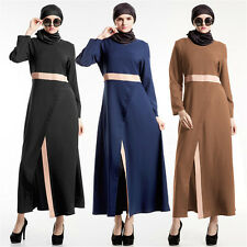 Kaftan Abaya Dubai Jilbab Islamic Muslim Cocktail Women Long Vintage Maxi Dress