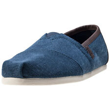 Toms Seasonal Classics Mens Espadrilles Navy New Shoes