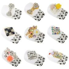 10pcs 3D Nail Art Tips Alloy Decoration Bling Crystal Rhinestone Charm Glitters