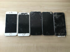 Lot of 5 Apple iPhone 6 NO POWER 4 Repairs or Parts SOLD AS IS (A75)