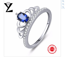 New YL Genuine 100% 925 Sterling Silver Fashion Trendy Cubic Zirconia Rings 2017